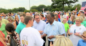 Ben Carson and white supporters